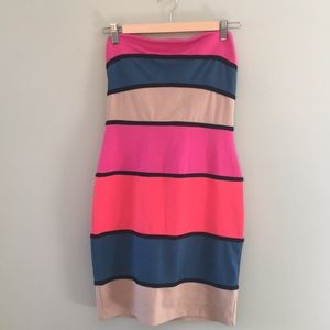Multicolor bodycon dress